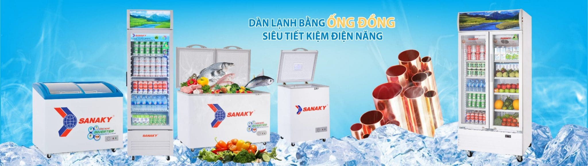 Tủ đông Sanaky - Sanaky Bình Dương