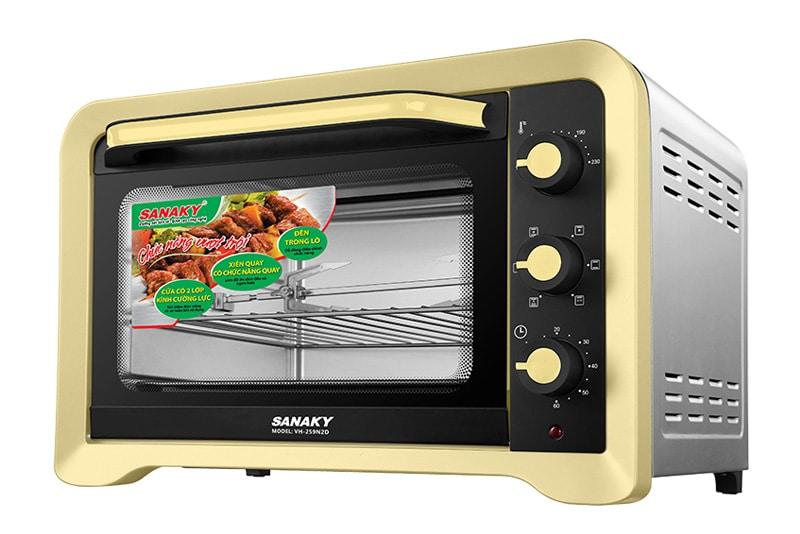 Lò nướng Sanaky 25 lít VH-259N2D