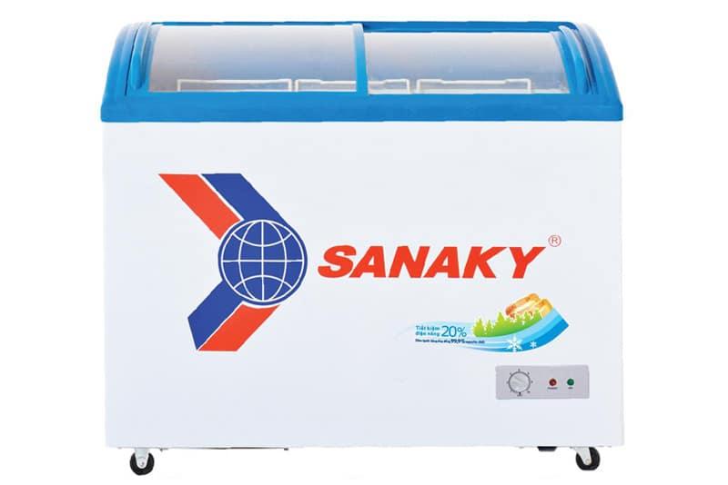Tủ đông nắp kính lùa Sanaky 324 lít VH-4899K