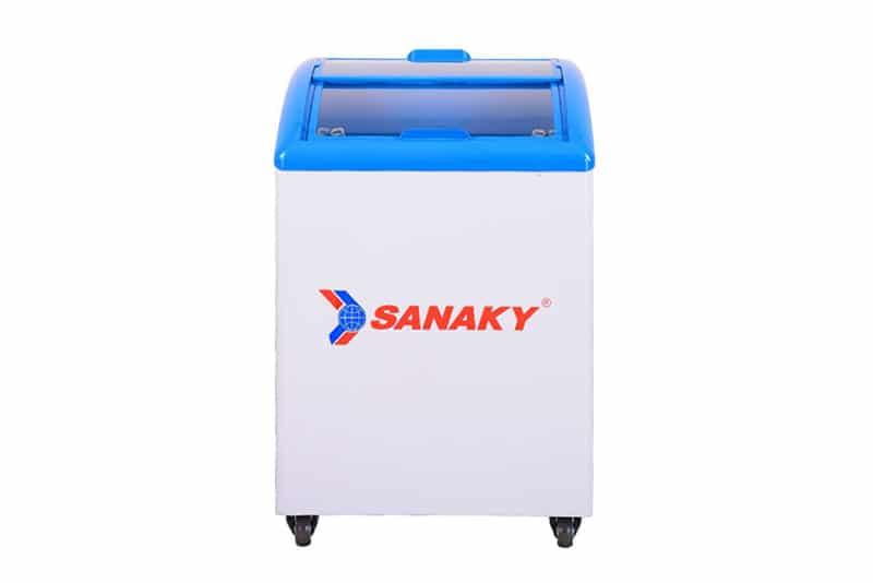 Tủ đông nắp kính lùa Sanaky 100 lít VH-182K