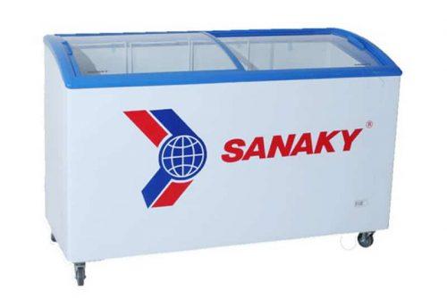 Tủ đông nắp kính lùa Sanaky 312 lít VH-402KW