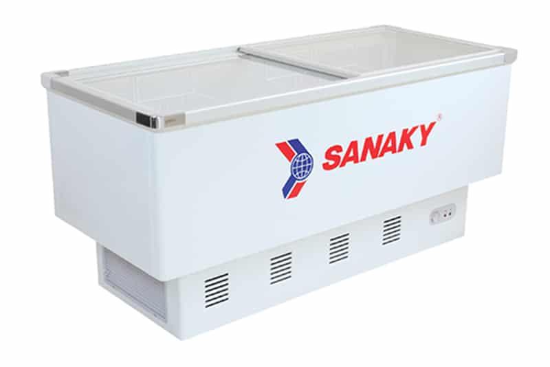 Tủ đông nắp kính lùa Sanaky 516 lít VH-999K