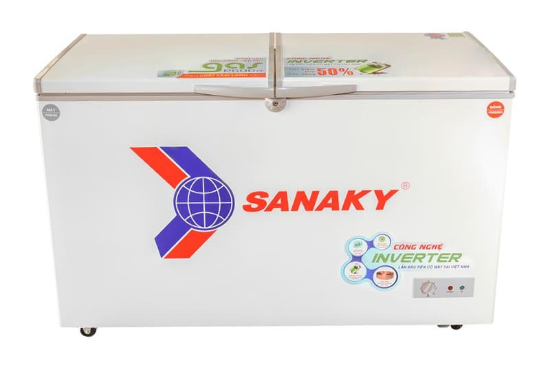 Tủ đông Sanaky Inverter 165 lít VH-2299W3