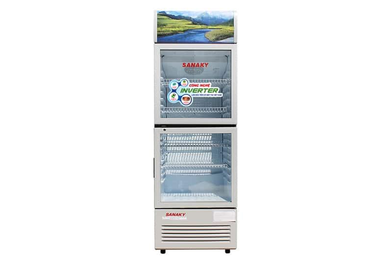 Tủ mát Sanaky Inverter 340 lít VH-408W3
