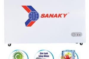 Tủ đông Sanaky 208 lít VH-255A2 dàn lạnh ống nhôm